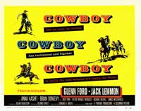 Cowboy - 11 x 17 Movie Poster - Style C