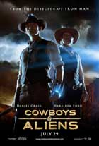 Cowboys and Aliens - 11 x 17 Movie Poster - Style D