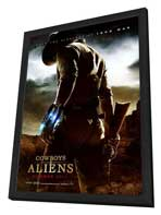 Cowboys and Aliens - 11 x 17 Movie Poster - Style A - in Deluxe Wood Frame