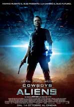 Cowboys and Aliens - 11 x 17 Movie Poster - Italian Style B