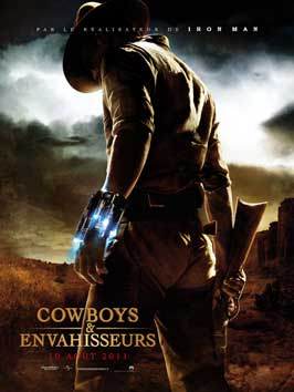 Cowboys and Aliens - 27 x 40 Movie Poster - French Style A
