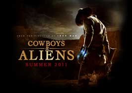 Cowboys and Aliens - 11 x 17 Movie Poster - Style C