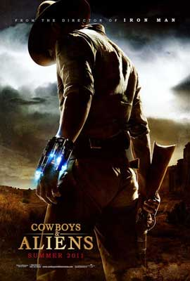 Cowboys and Aliens - 27 x 40 Movie Poster - Style A