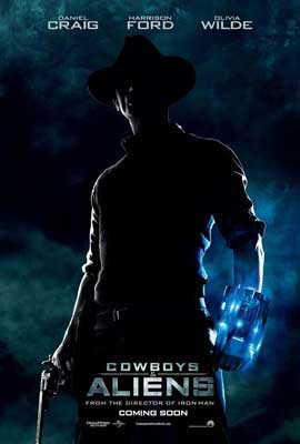 Cowboys and Aliens - 27 x 40 Movie Poster - Style B