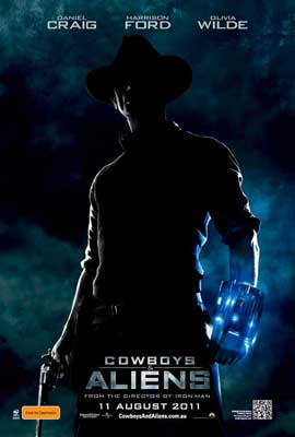 Cowboys and Aliens - 11 x 17 Movie Poster - Australian Style A