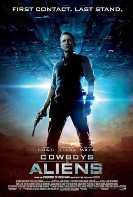 Cowboys and Aliens - 11 x 17 Movie Poster - Style F