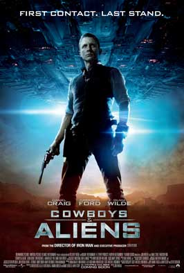 Cowboys and Aliens - 43 x 62 Movie Poster - Bus Shelter Style A