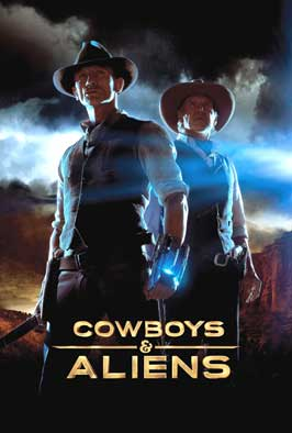 Cowboys and Aliens - 43 x 62 Movie Poster - Bus Shelter Style B