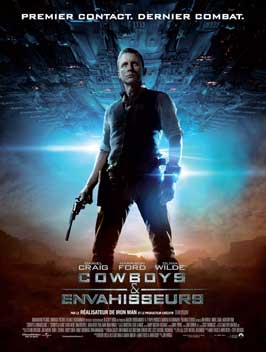 Cowboys and Aliens - 43 x 62 Movie Poster - French Style B
