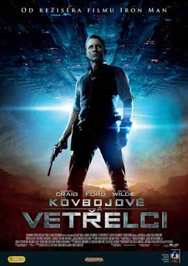 Cowboys and Aliens - 11 x 17 Movie Poster - Czchecoslovakian Style A