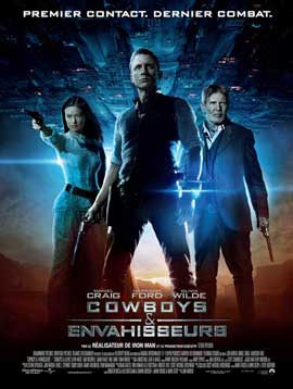 Cowboys and Aliens - 27 x 40 Movie Poster - French Style C
