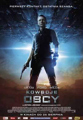 Cowboys and Aliens - 11 x 17 Movie Poster - Polish Style A