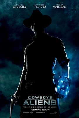 Cowboys and Aliens - 43 x 62 Movie Poster - Bus Shelter Style C