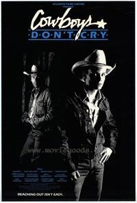 Cowboys Don't Cry - 27 x 40 Movie Poster - Style A