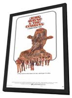 The Cowboys - 11 x 17 Movie Poster - Style D - in Deluxe Wood Frame