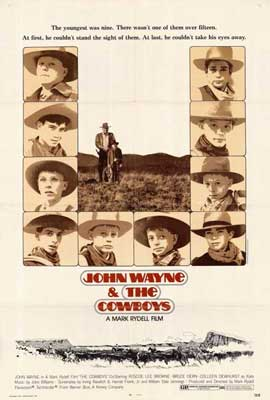 The Cowboys - 27 x 40 Movie Poster - Style B