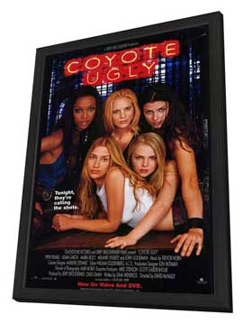 Coyote Ugly - 27 x 40 Movie Poster - Style B - in Deluxe Wood Frame