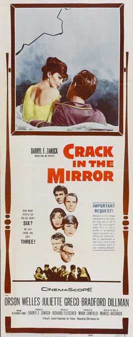 Crack in the Mirror - 14 x 36 Movie Poster - Insert Style A