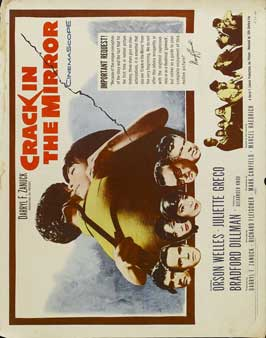 Crack in the Mirror - 22 x 28 Movie Poster - Style A