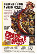 Crack In the World - 27 x 40 Movie Poster - Style B
