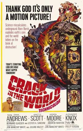 Crack In the World - 11 x 17 Movie Poster - Style B