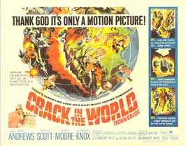 Crack In the World - 22 x 28 Movie Poster - Half Sheet Style A