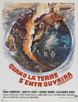 Crack In the World - 27 x 40 Movie Poster - French Style A