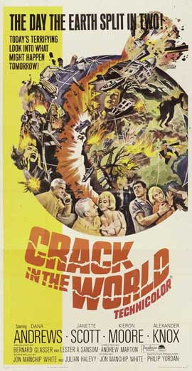 Crack In the World - 20 x 40 Movie Poster - Style A