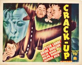 Crack-Up - 22 x 28 Movie Poster - Half Sheet Style A