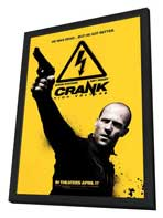 Crank 2: High Voltage - 11 x 17 Movie Poster - Style B - in Deluxe Wood Frame