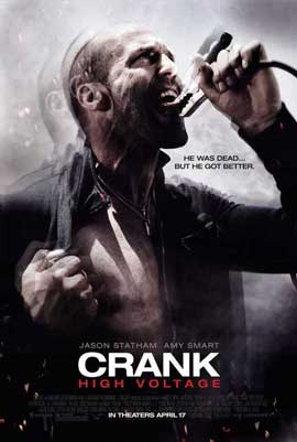 Crank 2: High Voltage - 27 x 40 Movie Poster - Style B