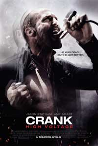 Crank 2: High Voltage - 43 x 62 Movie Poster - Bus Shelter Style B