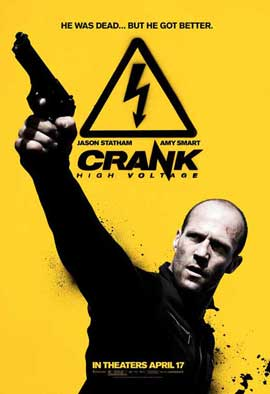 Crank 2: High Voltage - 11 x 17 Movie Poster - Style B
