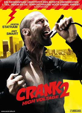Crank 2: High Voltage - 11 x 17 Movie Poster - Swiss Style A