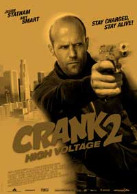 Crank 2: High Voltage - 27 x 40 Movie Poster - Style D