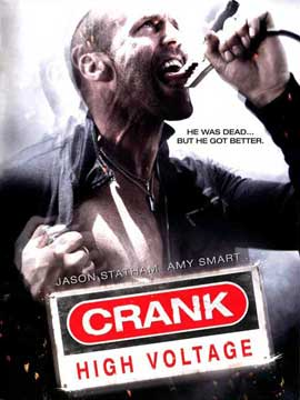 Crank 2: High Voltage - 11 x 17 Movie Poster - Style D
