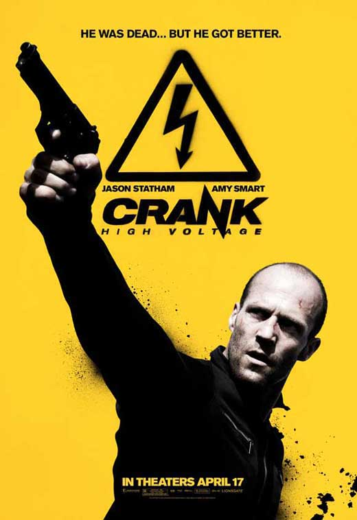Crank 2 High Voltage Movie Posters From Movie Poster Shop