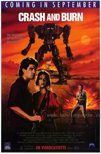 Crash and Burn - 27 x 40 Movie Poster - Style A