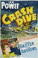 Crash Dive - 27 x 40 Movie Poster - Style B