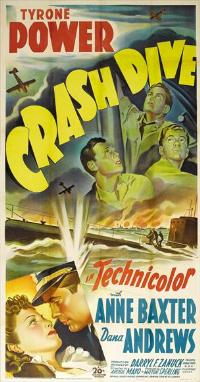 Crash Dive - 27 x 40 Movie Poster - Style A