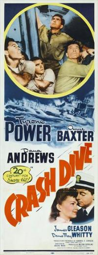 Crash Dive - 14 x 36 Movie Poster - Insert Style A