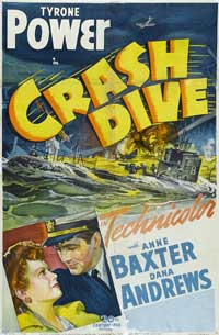 Crash Dive - 43 x 62 Movie Poster - Bus Shelter Style A