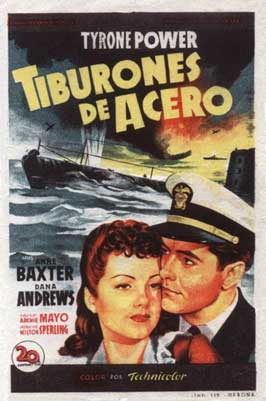 Crash Dive - 11 x 17 Movie Poster - Spanish Style A
