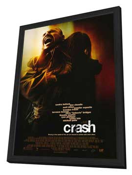 Crash - 11 x 17 Movie Poster - Style B - in Deluxe Wood Frame