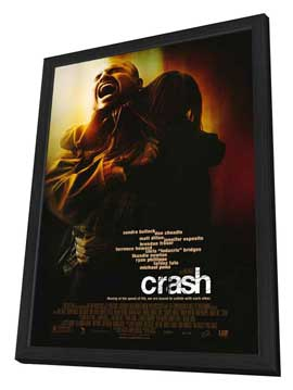 Crash - 27 x 40 Movie Poster - Style B - in Deluxe Wood Frame