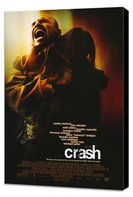 Crash - 27 x 40 Movie Poster - Style B - Museum Wrapped Canvas
