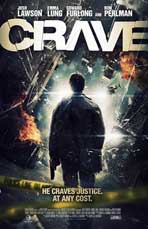 Crave - 27 x 40 Movie Poster - Style A - in Deluxe Wood Frame