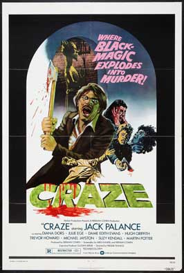 Craze - 11 x 17 Movie Poster - Style A
