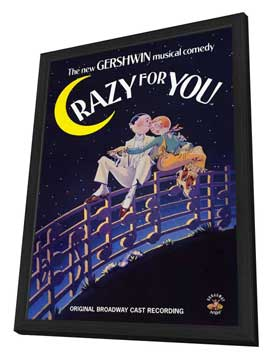 Crazy For You - 11 x 17 Movie Poster - Style A - in Deluxe Wood Frame