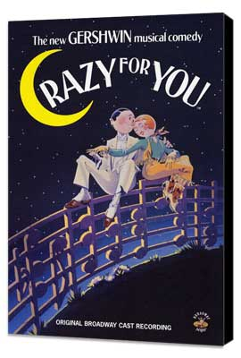 Crazy For You - 11 x 17 Movie Poster - Style A - Museum Wrapped Canvas